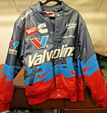 NASCAR Mark Martin 2XL JH Leather Racing Jacket Valvoline Roush Racing Cummins
