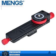 MENGS W-160 Macro Focusing Rail For DSLR Camera With Arca-Swiss Standard