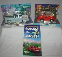 Chevron Cars 2000 LEO LIMO & 1999 RUDY RAGTOP  w/ Free Brochure! NEW in Pkg NOS