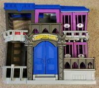 "Imaginext Batman Gotham City Jail Playset 2012 Mattel Lights Up no figures 12"""