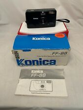 EUC+ KONICA FF-88 Auto Date Auto Flash Red-eye Reduction Camera Rare w/ Box