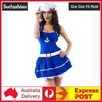 Sexy Sailor Navy Girl Uniform Fantasy Dress Halloween Costume #8405