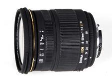 Sigma 18-50 f2,8 EX DC für Nikon