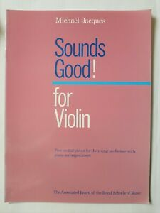 Michael Jacques: Sounds Good! for Violin (Music Book)