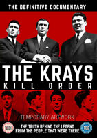 The Krays: Kill Order DVD (2015) Ronnie Kray cert 15 ***NEW*** Amazing Value