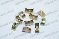 New Replacement M6 Half Moon Bed Nuts available in packs of 1,2,4,6,8 & 10