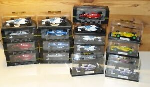 Job Lot Onyx F1 Collection 1:43 Ferrari Williams Renault Braun Tyrrell etc MIB