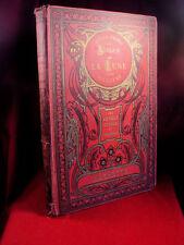 Autour De La Lune Illustre Jules Verne with Republique Francaise book plate