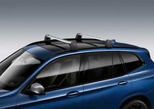 BMW OEM 2018 G01 X3 30i, 30iX, M40iX Base Support System Roof Rack 82712414373