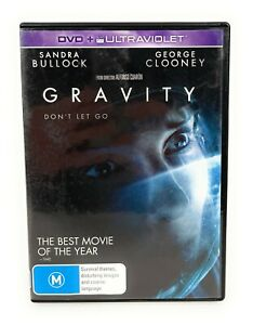 Gravity (DVD, 2013) Sandra Bullock Region 4 Free Postage