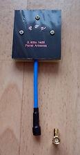 5.8Ghz 14dBi High Gain FPV Panel Antenne Drohne Multicopter + 90° Winkeladapter