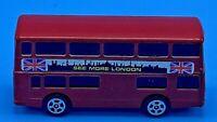 Corgi Juniors Red Daimler Fleetline London Doubledecker Bus HO/S Scale Vintage