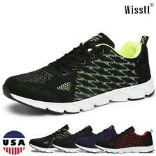 Men's Sneakers Fashion Mesh Running Walking Fashion Athletic Casual Shoes Sports