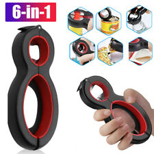 6in1 Twist Bottle Opener All in One Jar Gripper Can Remover Multi Kitchen Tools