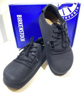 Birkenstock Montana Women's Sz 7 (EU38)Reg Fit Black Leather Oxford Shoes S1-526