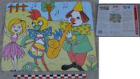 Puzzle Kiri le Clown et son orchestre, Jeux Nathan, 1987, 15 pièces, complet