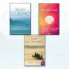 Paulo Coelho 3 Book Collection Set (The Alchemist,The Pilgrimage,Manual of The)