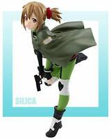 JAPAN OFFICIAL Sword Art Online Silica figures Aqua officiell Figur Manga Anime