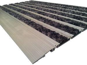 HDDMS L45 60x37cm, Alu Schmutzfangmatte,Eingangsmatte,Fußmatte,mehrere Einlagen