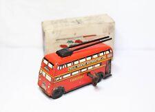 Brimtoy Pocket Toy No 516 Trolley Bus With Its Original Box - Vintage Original
