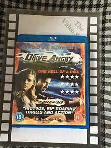 Drive Angry ( Blu-ray ) Rental Copy