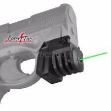 LaserTac TM-G Green Laser Sight for Subcompact Pistols and Compact Handguns