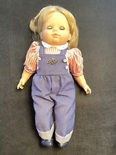 New ListingVintage Gotz Modell Doll 18� Blonde Hair Blue Sleepy Eyes