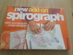 ADD ON SPIROGRAPH DRAWING GAME DENYS FISHER FREE UK POST