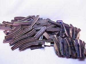 83660 Konvolut ca. 4,4 kg Märklin H0 M-Gleis Gerade Kurven Weichen gebraucht