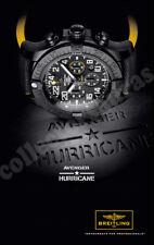 BREITLING Avenger Hurricane mens wrist watch advertisement A4 size HQ print