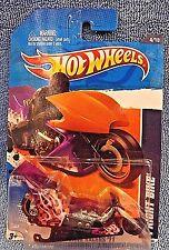 2011 Hot Wheels #124 HW Drag Racers 4/10 FRIGHT BIKE Purple Color Variation