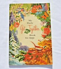Vintage 1959 My Daily Get Together Book Pacific Telephone Co.