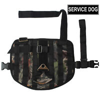 Non-Pull Training Vest Tactical Harness Military Service Dog Harness & Patch