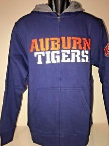 Auburn Tigers  Full Zip Hoodie BIG & TALL Sweatshirt Jacket