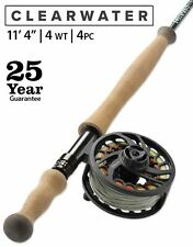 "New 2020 Orvis Clearwater 4wt 11'4"" Trout Spey Rod - 25 Year Warr. Free Shipping"