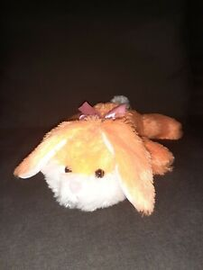 Dan Dee Orange Bunny Rabbit Plush