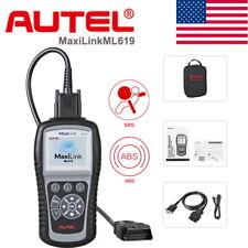 Autel Autolink ML619 AL619 ABS Reader Eraser Code Scanner OBDII Diagnostic Tool