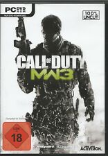 Call of Duty: Modern Warfare 3 (PC, sólo la Steam key descarga código) no DVD
