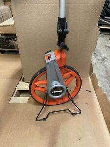 Contractors Tape Measuring Distance Wheel Roll Over Large Tool, Lufkin 12-1/2 in