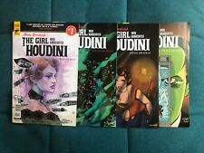 Minky Woodcock - The Girl Who Handcuffed Houdini # 1,2,3,4 - Titan Comics