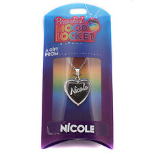 Personalised Mood Locket Necklace - NICOLE