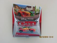 Disney Pixar Cars 2 2013 RIP CLUTCHGONESKI WGP BUBBLE RIB DAMAGED Hot CB-H-GN