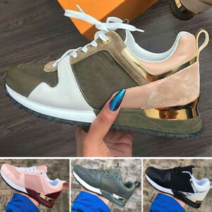 WOMENS LADIES LACE UP SPORT TRAINERS PARTY CHUNKY SNEAKERS WOMEN FASHION SHOES