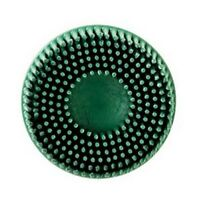 """Scotch-Brite Roloc Bristle Disc 07524 Green, 2"""", Coarse, 10 discs/bx 3M-7524"""