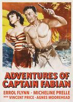 Adventures of Captain Fabian [New DVD]