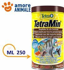 Tetra TetraMin Fiocchi 250ml 50 78gr Mangime Scaglie per Pesci