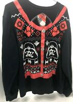Star Wars Darth Vader Sweat Shirt Size Large  Storm Troopers Ugly Christmas