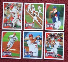 2010 Topps Washington Nationals Baseball Team Set w/ Update 34 Cards ~ Strasburg