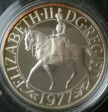 1977 Great Britain Proof Silver Jubilee Commemorative Crown