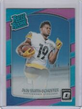 2017 Donruss Optic JuJu Smith-Schuster Pink Prizm Rated Rookie #176 Steelers